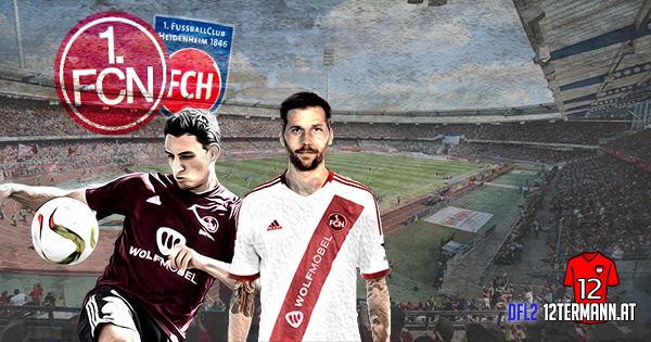 1. FC Nürnberg 1. FC Heidenheim 2. Bundesliga Deutschland DFL2 Burgstaller Margreitter ÖFB Legionäre legiÖs Spielbericht Highlights Video