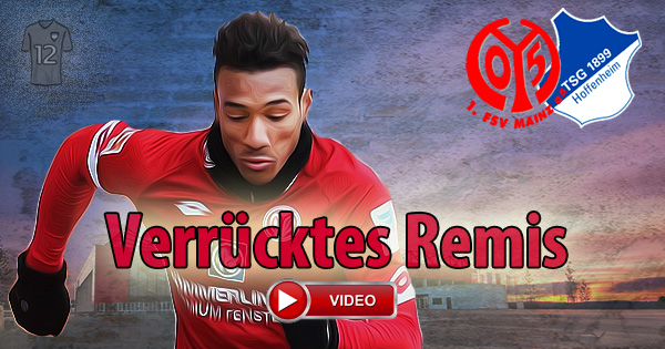 1. FSV Mainz 05 TSG 1899 Hoffenheim 4:4 2. Spieltag Deutschland Bundesliga DFL1 Karim Onisiwo ÖFB Legionäre legiÖs