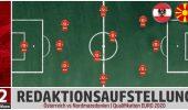 Österreich vs Nordmazedonien – die Aufstellung der Redaktion