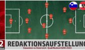Slowenien vs Österreich – 12terMann-Aufstellung