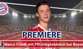 Marco Friedl feiert Pflichtspiel-Debüt für Bayern München