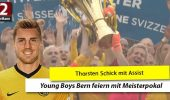 VIDEO: Schick-Assist bei Young Boys-Meisterfeier