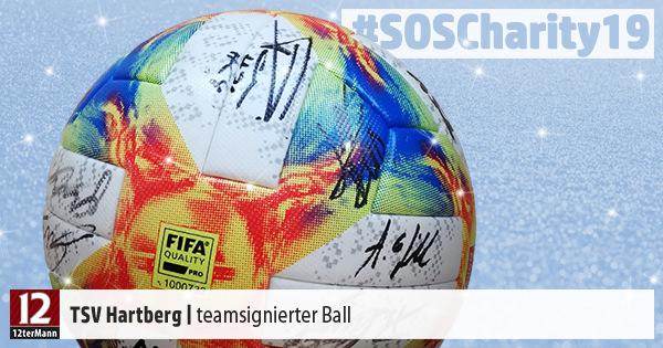Teamsignierter Ball vom TSV Hartberg – Weihnachts-Charity