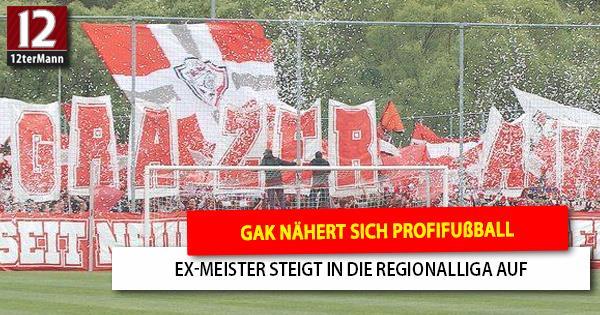GAK kehrt mit Meistertitel in die Regionalliga Mitte zurück