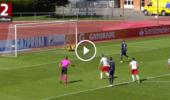 VIDEO: Salzburg-Torhüter Daniel Antosch hält in der Youth League drei Elfmeter in Folge!