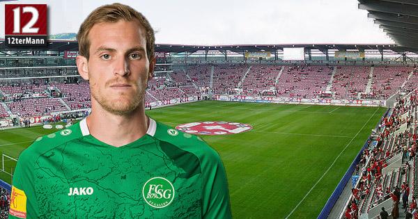 Fabian Schubert beim FC St. Gallen