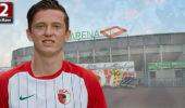 Michael Gregoritsch bejubelt Treffer über Union Berlin
