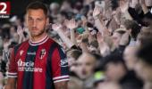 Marko Arnautovic bereitet Siegtreffer von Bologna vor