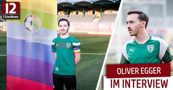 """Oliver Egger: """"Manchen hätte das ein oder andere Jahr schwul sein nicht geschadet"""""""