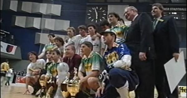 SK Rapid Wien Vienna FC Wiener Stadthalle Turnier Hallenfußball Video Finale