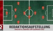 Dänemark vs. Österreich – Die Aufstellung der Redaktion