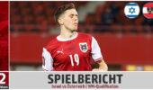 Spielbericht: Österreich geht in Israel erneut unter