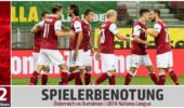 SPIELERBENOTUNG: Österreich vs. Rumänien – viel Durchschnitt reicht nicht gegen effiziente Rumänen