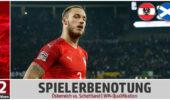 Spielerbenotung: ÖFB-Elf verliert auch gegen Schottland