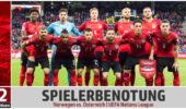 Spielerbenotung: Norwegen vs. Österreich – Zeugnistag für eine solide Truppe