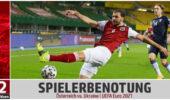 Spielerbenotung: Österreichs Nationalteam schreibt mit Sieg gegen die Ukraine Geschichte