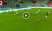 VIDEO: Tor von Stipe Vučur leitet Sieg in der Nachspielzeit ein