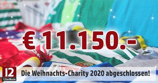 Die 12terMann-Charity brachte 11.150 im Jahr 2020 ein