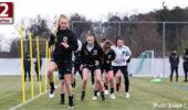 Das Frauen Nationalteam testet gegen Finnland