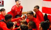 U17-Nationalteam nach Sieg gegen Bulgarien in Eliterunde der EM-Quali