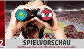 VORSCHAU: Gastspiel in Kasachstan als nächster Schritt zur EURO 2022