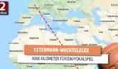 Wuchtel-Ecke: Eine über 9300 Kilometer weite Auswärtsreise im französischen Pokal
